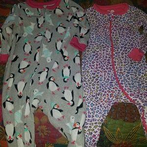 12 months Footie pajamas